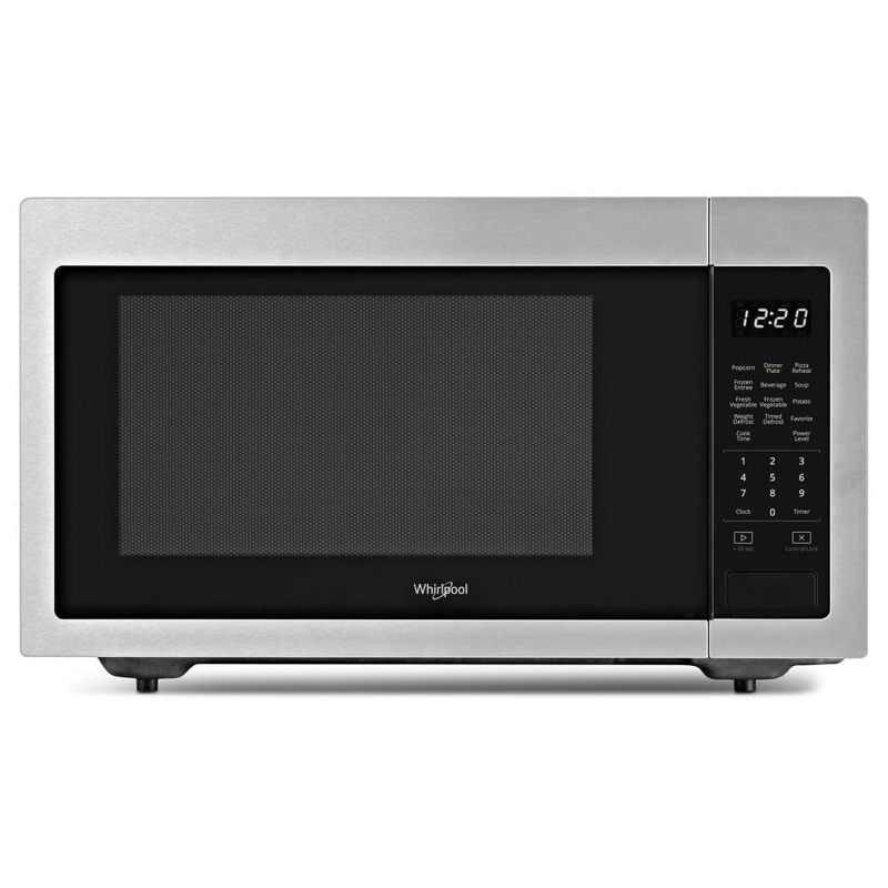 1 6 Cu Ft Countertop Microwave Starbon Appliances